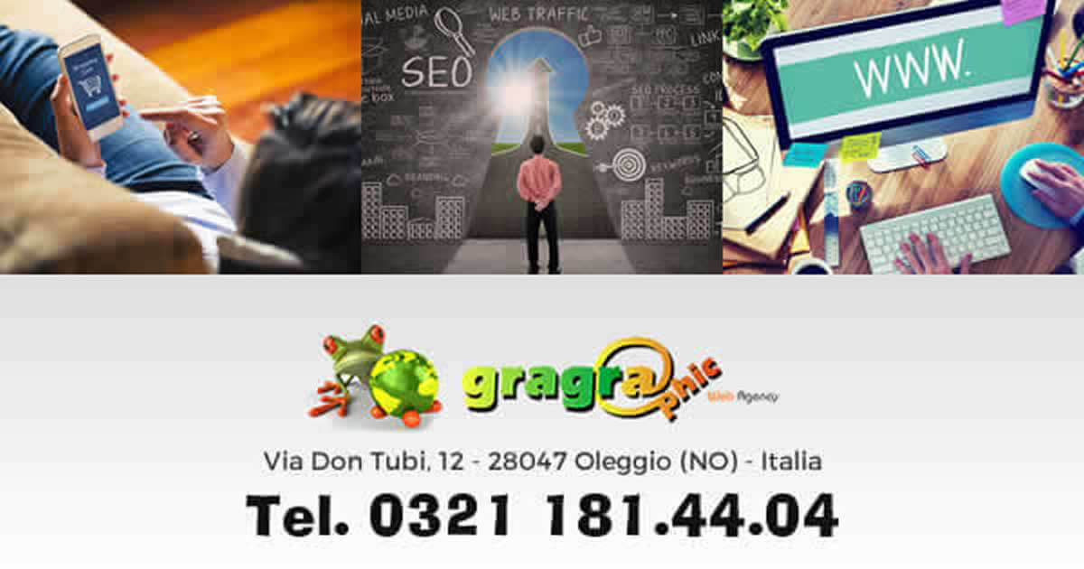 Sei di Gravellona Toce, cerchi una agenzia web per la creazione e-commerce contatta Gragraphic